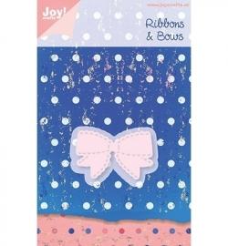 Joy!crafts - Cutting & Embossing stencil Ribbons & Bows Strik