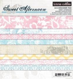 Teresa Collins - Sweet Afternoon - 6 x 6 Paperpad
