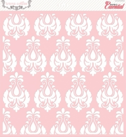 Basically Essential Stencil Damask 30,5 x 30,5 cm