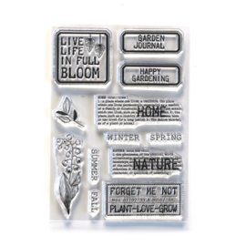 Elizabeth Craft Designs -Home & Nature - clearstamps (CS213)