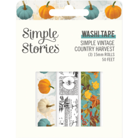 Simple Stories  -Simple Vintage Country Harvest - Washi Tape