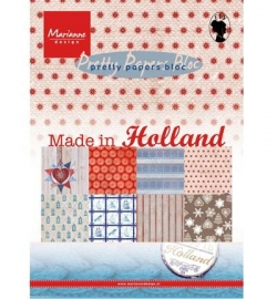 Marianne Design - Pretty Papers Bloc - Made in Holland A5