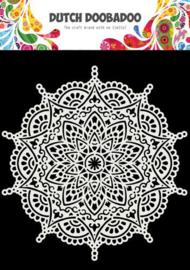 Dutch Doobadoo - Dutch Mask Art  - Mandala