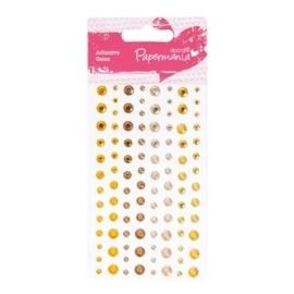 Papermania - Adhesive Gems - Capsule Sunshine