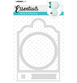 Studio Light - Essemtials - STENCILSL165 - Cutting and Embossing Die