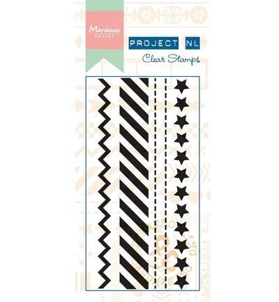 Marianne Design - Stempel Randstempels sterren
