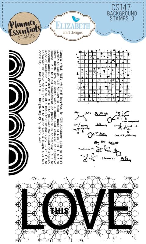Elizabeth Craft Designs - Background Stamps 3