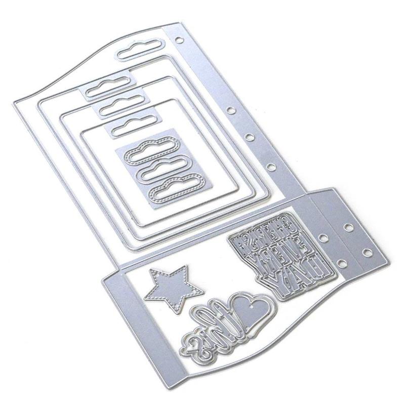 Elizabeth Craft Designs - Planner Essentials 30 - Wave Pocket