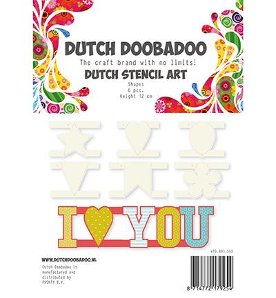 Dutch DooBaDoo - Dutch Stencils Art - Stencil Art Shapes