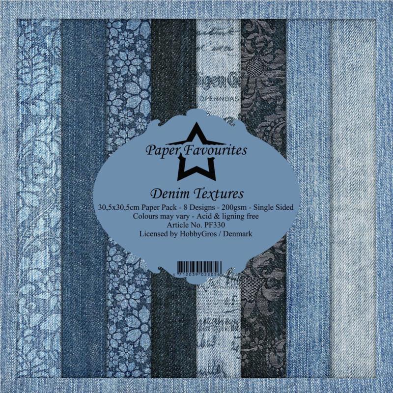 Paper Favourites - Denim Textures - Paper Pack