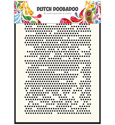 Dutch Doobadoo Dutch Mask Art stencil -  Mask Art Dots