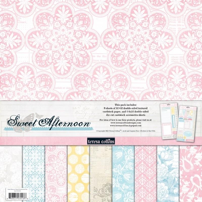 Teresa Collins - Sweet Afternoon - Paperpack 30,5 x 30,5 cm