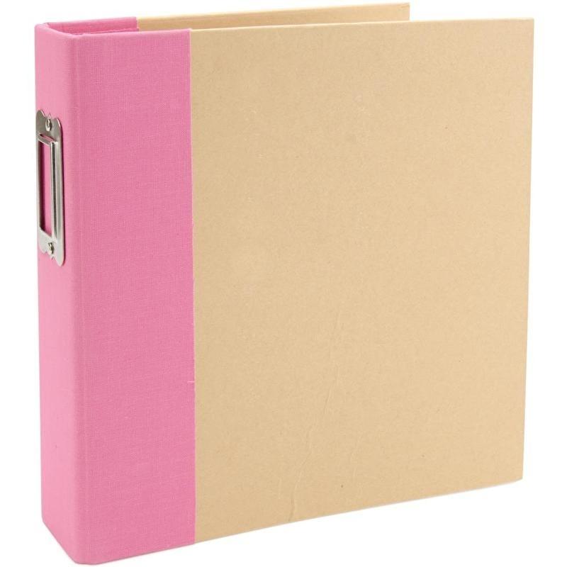 Sn@p! Binder 6 x 8 inch Pink