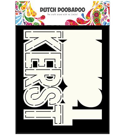Dutch DooBaDoo - Dutch Card Art - Card Art Text 'Kerst'