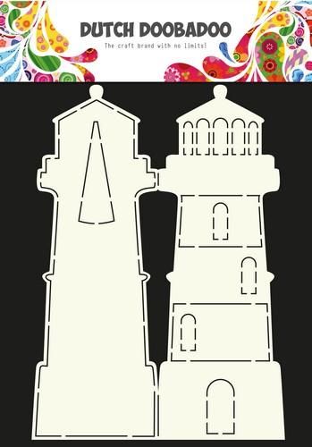 Dutch Doobadoo Dutch Card Art Stencil - Card Art Lighthouse -A4