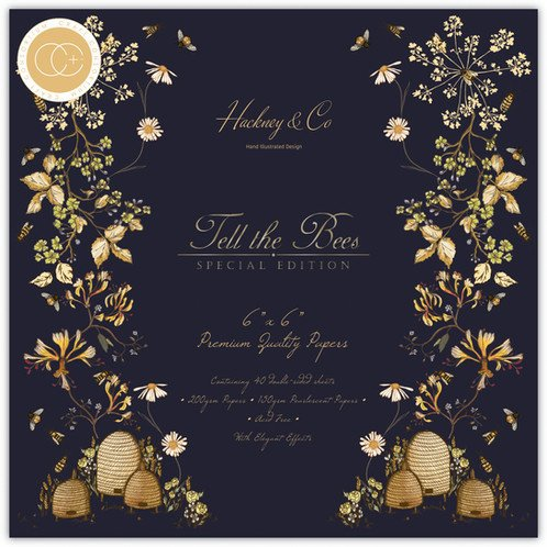 Craft Consortium - Tell the Bees Special Edition - 6x6 Inch Paper Pad
