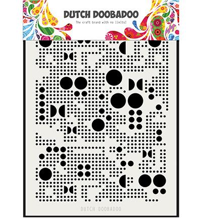 Dutch Doobadoo - Dutch Mask Art stencil - Mask Art Mylar Various Dots