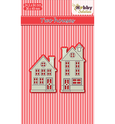 Nellie's Choice - Hobby Solutions Dies - Cutting / embossing - Two houses