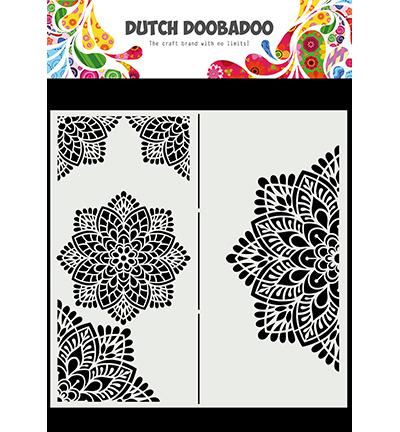 Dutch DooBaDoo - Mask Art - Slimline Mandala
