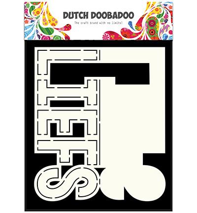 Dutch DooBaDoo - Dutch Card Art - Card Art Text 'Liefs'