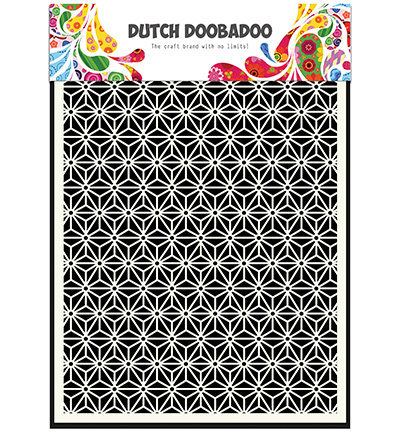 Dutch Doobadoo Dutch Mask Art stencil - Mask Art Star  A5