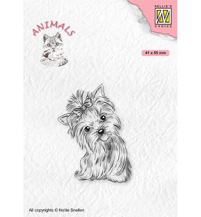 Nellie's Choice - clearstamp - Animals Yorkshire terrier