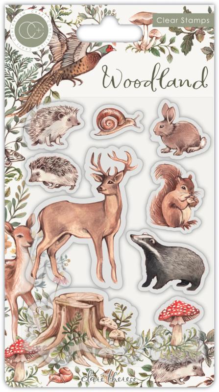 Craft Consortium - Woodland - Animals Stamps