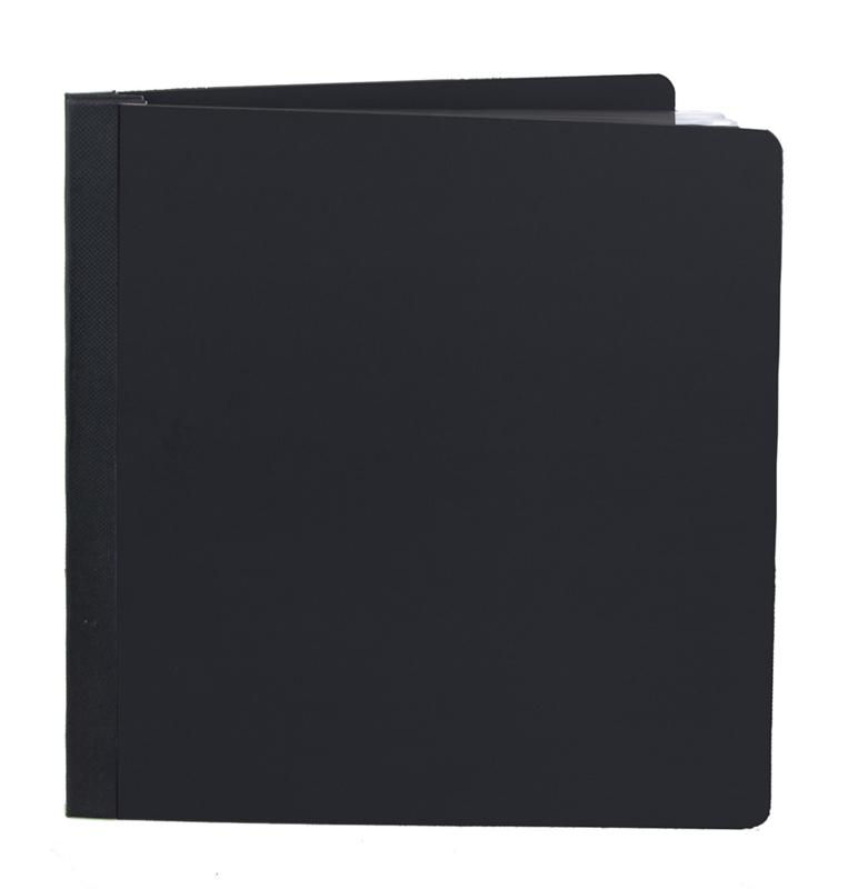 """Simple Stories - Black 6""""x8"""" SN@P! Flipbook"""