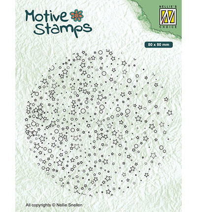 Nellie's Choice - Clearstamp - Cirkels - Stars & dots