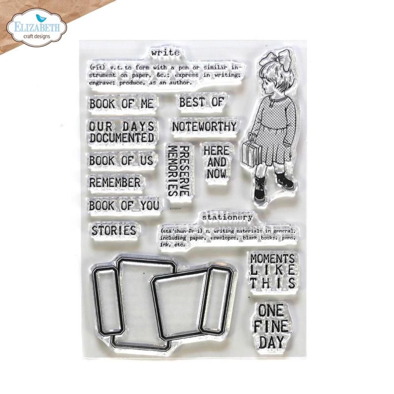 Elizabeth Craft Designs - Noteworthy - clearstamps (CS231)