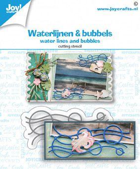 Joy! Crafts - Snijstansmal - Waterlijnen en Bubbels