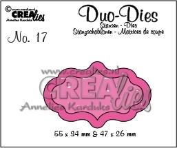 Crealies -  Duo Die no. 17 Duo Labels 4