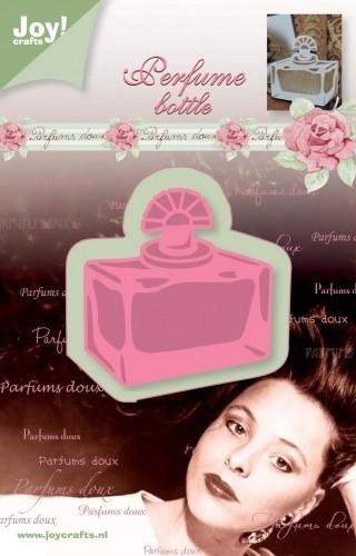Joy!crafts - Cutting & Embossing stencil Parfum Flesje Rechthoek
