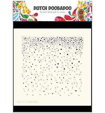 Dutch Doobadoo Dutch Mask Art stencil - Mask Art Snow