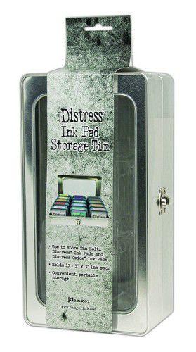 Ranger Tim Holtz - Distress Pad Storage Tin - voor 15 pads (leeg)