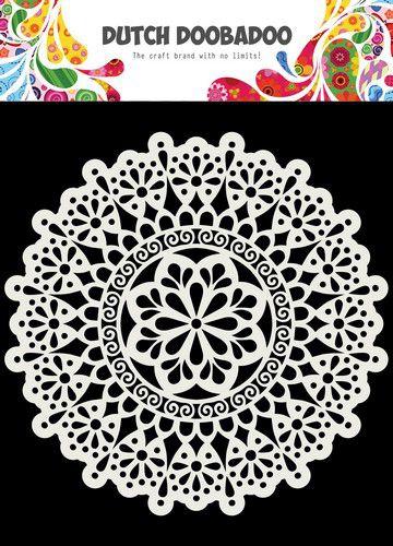 Dutch Doobadoo- Mask Art - 15x15cm - Mandala