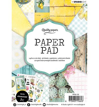 Studio Light - Paper Pad A5 - Garden nr.132