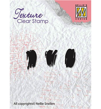 Nellie`s Choice - Clear Stamps - Texture -  Brush strokes