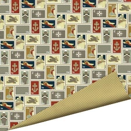 Imaginisce - Bon Voyage - Stamp Collection