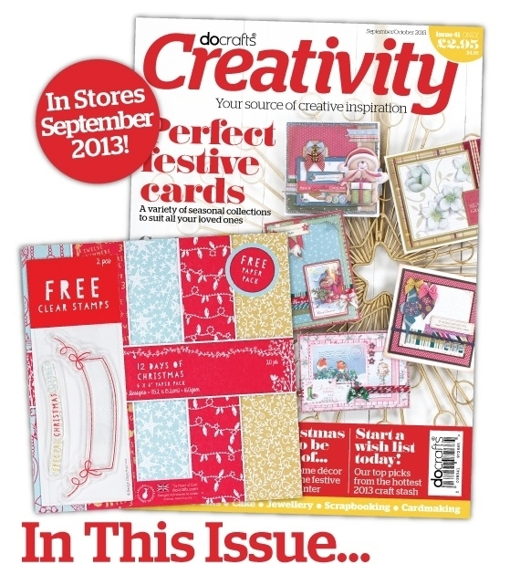 Docrafts Creativity Magazine - Issue 41 - Sep/Oct 2013