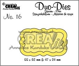 Crealies - Duo Die no. 16 Duo Labels 3