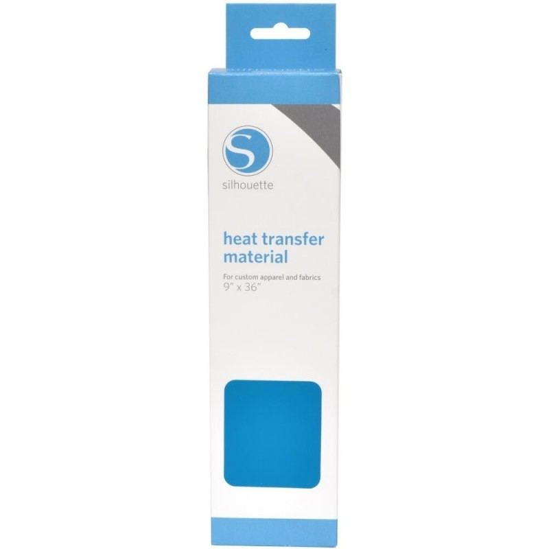 Silhouette Heat Transfer Material Smooth Blue