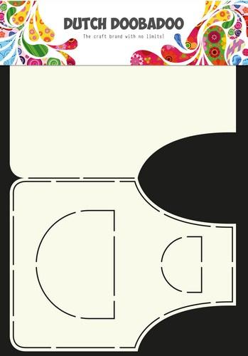 Dutch Doobadoo - Dutch Card Art - Stencil schort A4