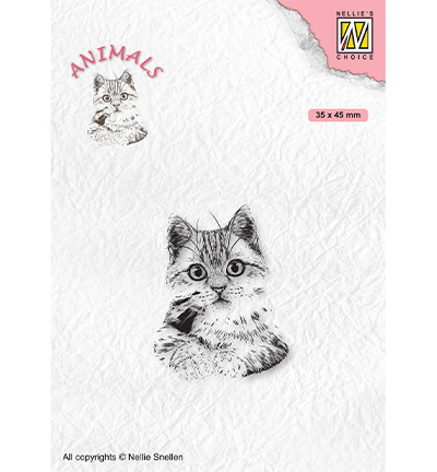 Nellie's Choice - clearstamp - Animals Pussycat