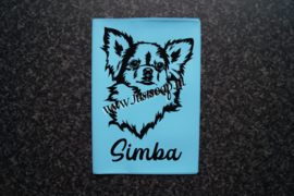 Paspoorthoesje Chihuahua langhaar 5