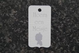 Label Hoera een meisje