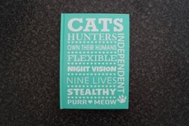 Notitieboekje Cats ...