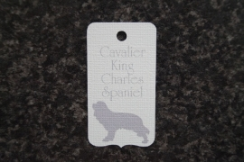 Label Cavalier King Charles Spaniel