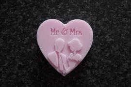 Huwelijksbedankje Mr & Mrs