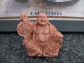 Boeddha met geluksmunt